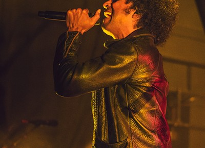 William DuVall lets out an echoing scream that shakes The Depot on Monday night while performing with Alice in Chains. Photo: Talyn Sherer