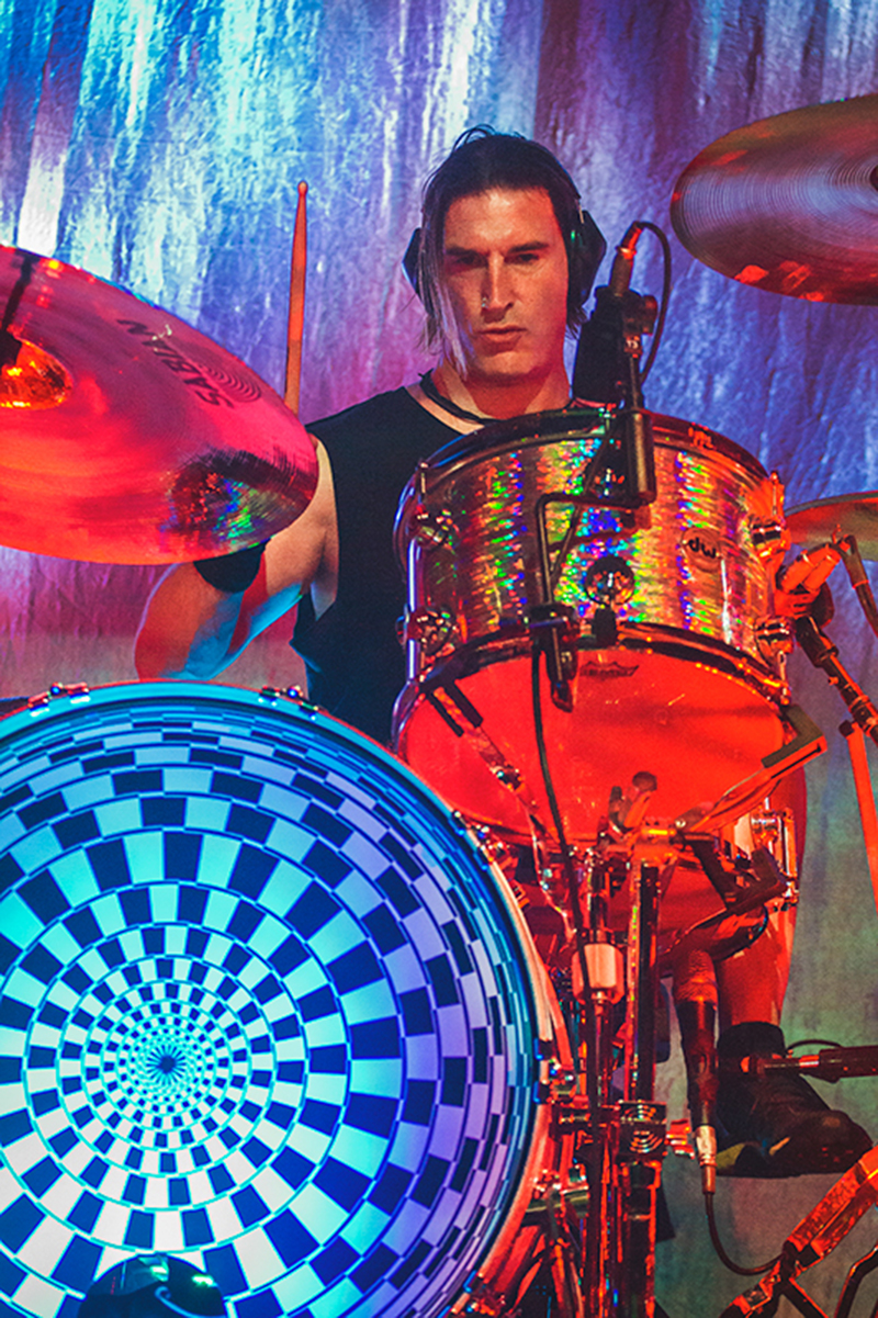 Drummer Sean Kinney has been a part of the driving force that has kept Alice in Chains from being lost in time as he works tirelessly to keep their sound unique in its own right. Photo: Talyn Sherer