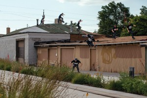 Caleb Orton, no-comply shove-it, tuck knee off roof