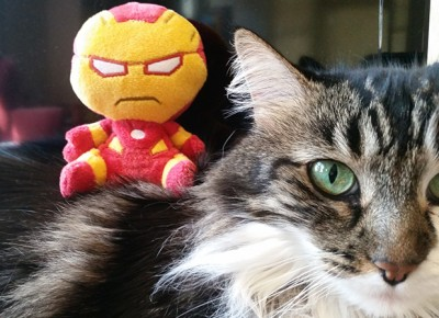 Iron Man Mopeez Plush