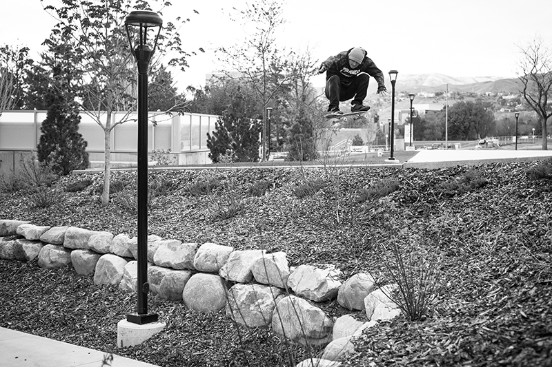 Skate Photo Feature: Clark Thomas