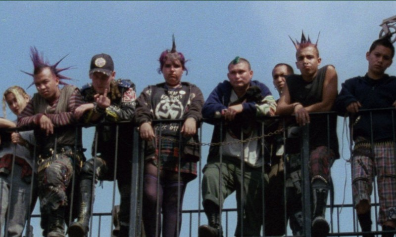 Street Punks on a Bridge – The Decline of Western Civilization