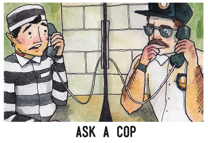 Ask a Cop: Courage
