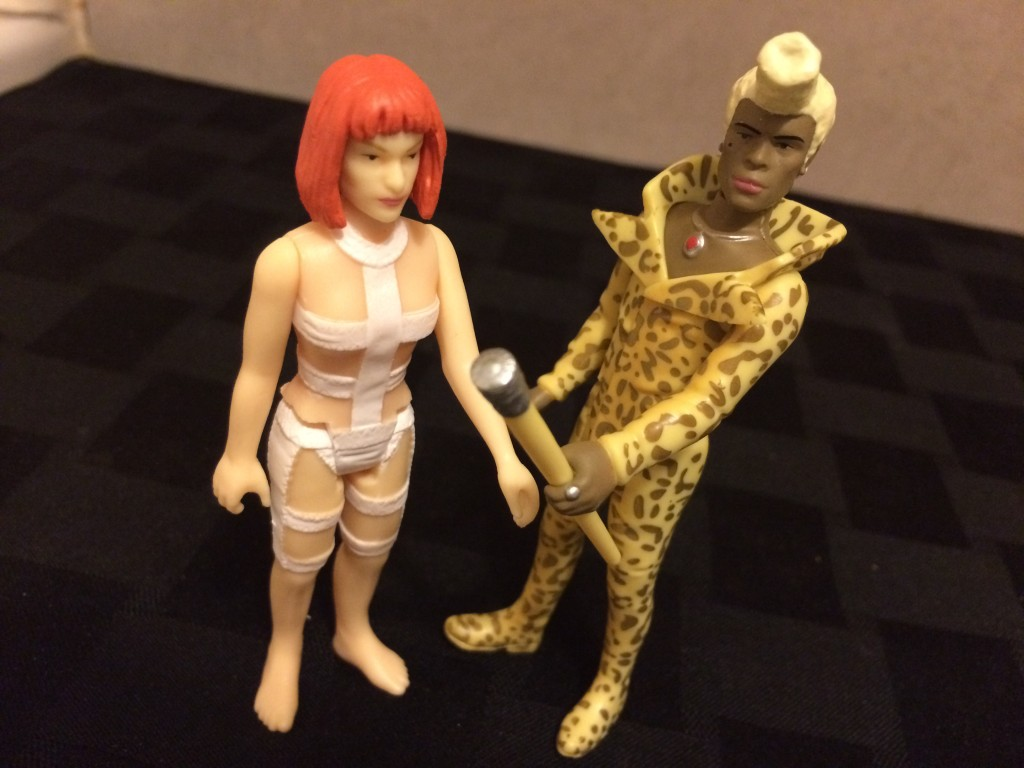 Review: The Fifth Element ReAction Figures