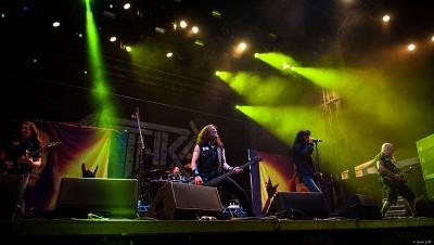 Anthrax @ Riot Fest 2015. Photo: Jason Gold
