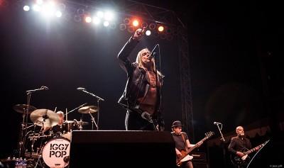 Iggy Pop @ Riot Fest 2015. Photo: Jason Gold