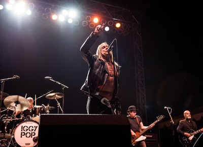 Iggy Pop @ Riot Fest 2015. Photo: Jason Gold
