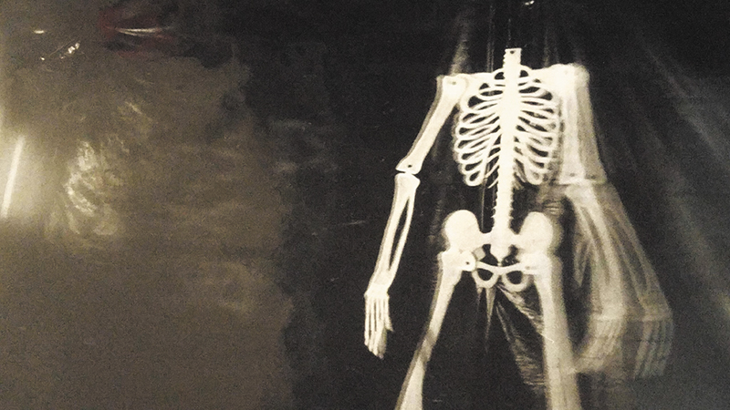 Unleash your inner skeleton for a Gallery Stroll Halloween!