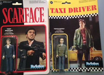 Scarface & Taxi Driver ReAction Figures
