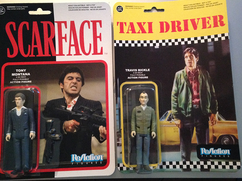 Review: Scarface & Taxi Driver ReAction Figures