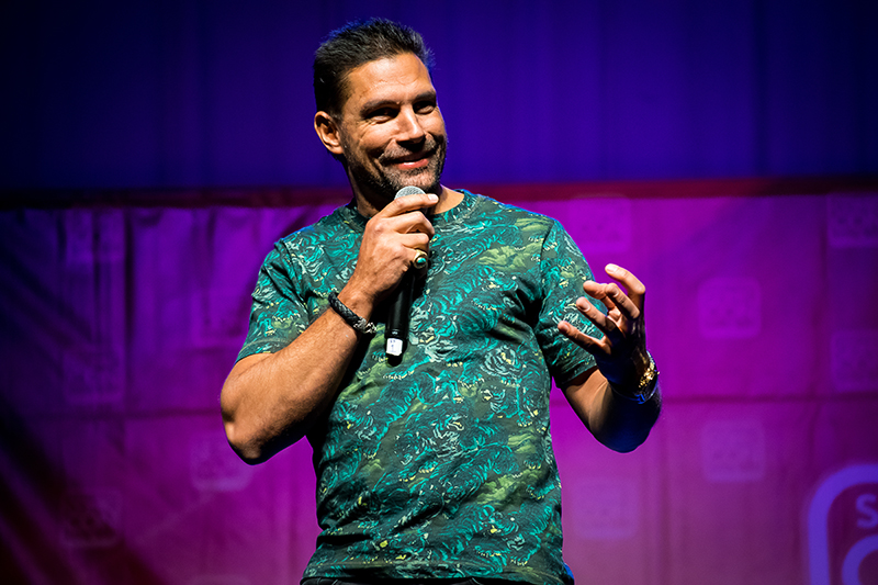 Learn How To Make People Uncomfortable In America With Manu Bennett!