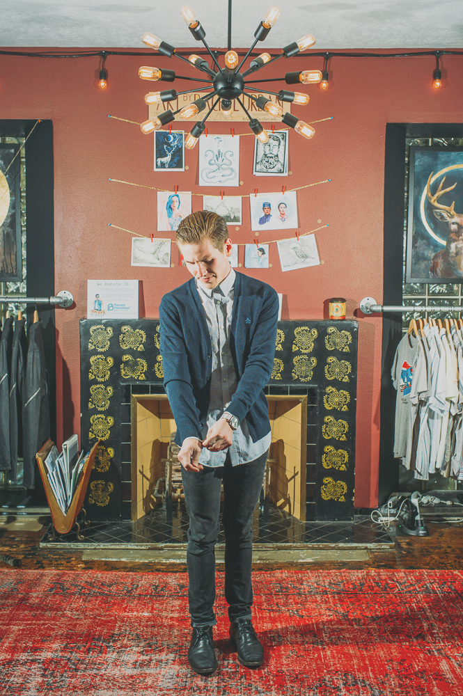 "Daley's carried a lot of men's vintage clothing in the past, but has been carrying more new brands lately. ""I think that it will vary at times how much vintage we have compared to new, but I think we will end up being more a new clothing store than anything else,"" says Spencer Daley. ""Especially with the addition of women's clothing in the upcoming months."""
