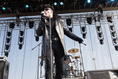 The Damned @ Riot Fest 2015. Photo: Dave Wruck