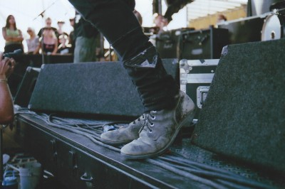 Nice shoes, Tim!