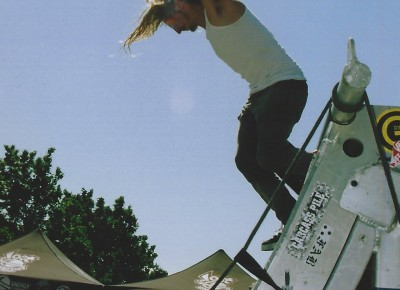 Mike Plumb (a.k.a. Lizard King) @ Vans Warped Tour 2005 @ Utah State Fairpark.