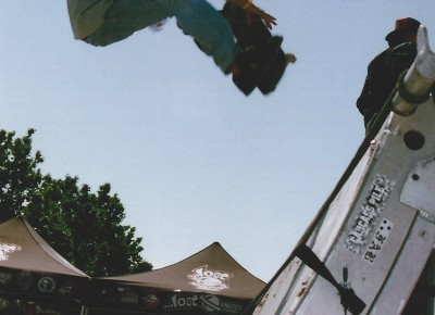 Christian Sereika @ Vans Warped Tour 2005 @ Utah State Fairpark.