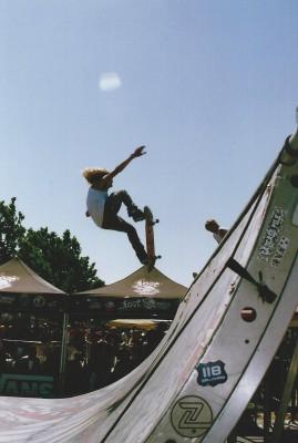 Mike Plumb (a.k.a. Lizard King) @ Vans Warped Tour 2005 @ Utah State Fairpark.