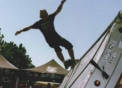Mark White @ Vans Warped Tour 2005 @ Utah State Fairpark.
