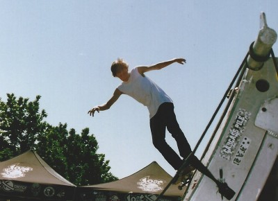 Levi Faust @ Vans Warped Tour 2005 @ Utah State Fairpark.