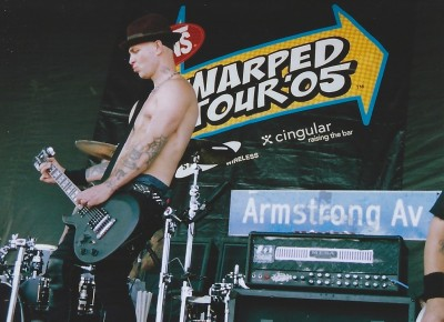 Tim Armstrong and Rob Aston formed Transplants with drummer Travis Barker of Blink-182. They released their self-titled debut album on October 22, 2002.