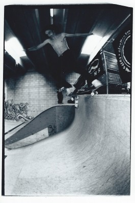 Mike Plumb A.K.A Lizard King, Summer of Death at Connection Park, 2000.
