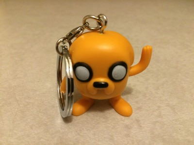 Geek Fuel August 2015 – Adventure Time Keychain