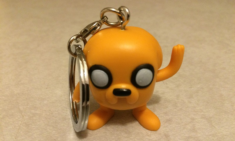 Geek Fuel August 2015 – Adventure Time Keychain