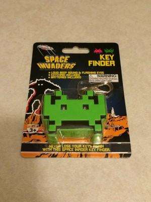Geek Fuel August 2015 – Space Invaders Key Finder