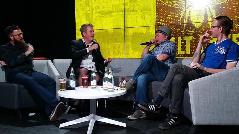 I Am Salt Lake: Live, featuring Chris Holifield, Paul Duane, Kerry Jackson and Levi Rounds. Photo: Rachel Jensen