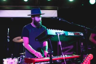 Keyboardist Sebastian Fritze of Grizfolk.