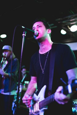 Grizfolk takes the stage with frontman Adam Roth at the mic.