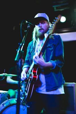 Fredrik Eriksson of Grizfolk playing at Urban Lounge.