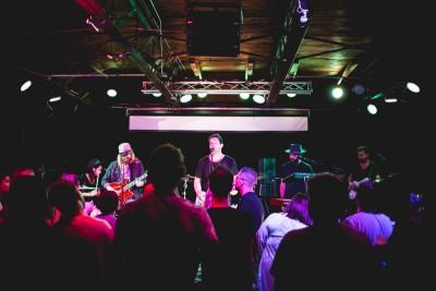 Grizfolk, playing at Urban Lounge in Salt Lake City.