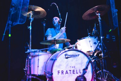 Mine Fratelli, playing drums in SLC.