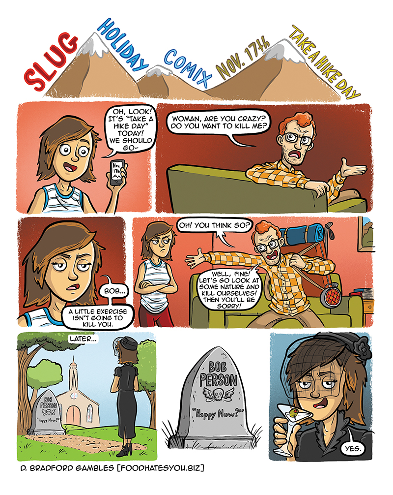 SLUG Holiday Comix November 2015