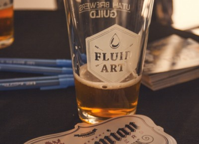 Bohemian Brewery, a.k.a. my favorite drinking buddies at any beer festival, showcased their Vienna Lager alongside Firelei Báez's extremely detailed artwork. Photo: Talyn Sherer