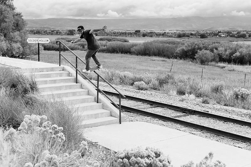 Matt Fisher – Backside Lipslide – Salt Lake City, Utah.
