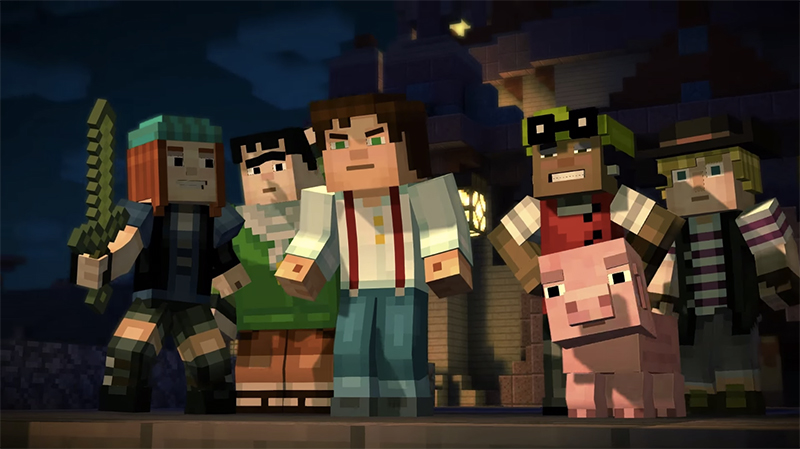 Review: Minecraft – Story Mode