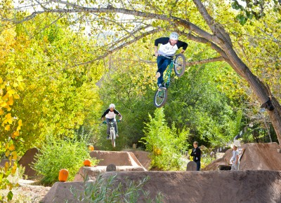 The Twelfth Street Trails crew from Ogden came down for the jam. Scott, CanCan. Photo by Andy Fitzgerrell