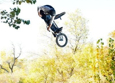 Jayson Johnson, fully cranked 360 turndown. Photo by Andy Fitzgerrell
