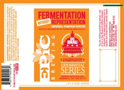 Epic Brewing: Fermentation Without Representation