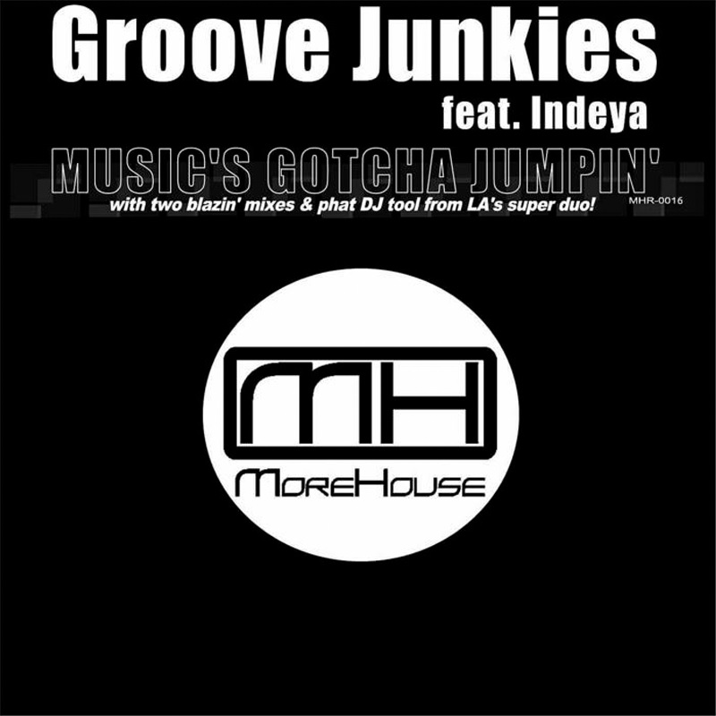 Review: Groove Junkies ft. Indeya – Music's Gotcha Jumpin'