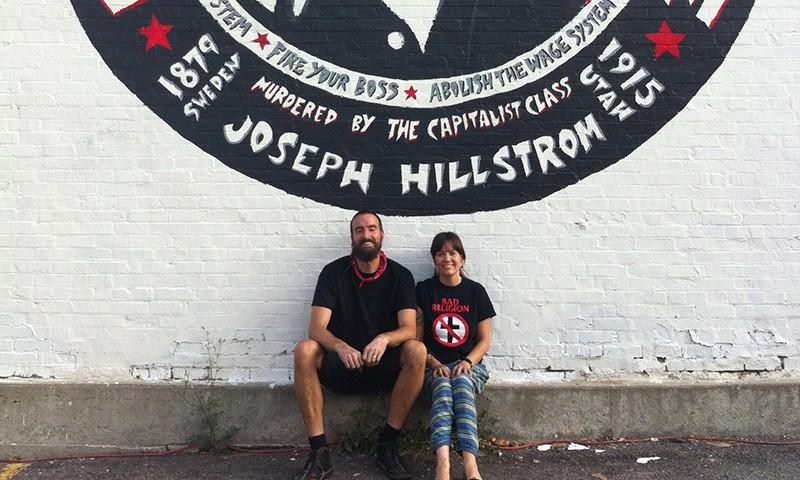 Joe Hill mural