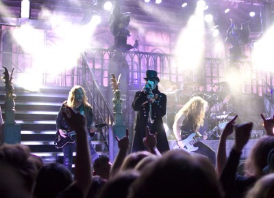 "King Diamond performs ""Melissa."" Photo by Madi Smith."