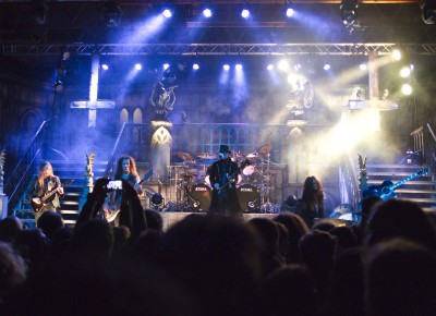 King Diamond's elaborate performance made this an unforgettable Halloween. Photo by Madi Smith.