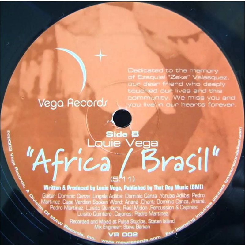 Review: Louie Vega – Africa/Brasil