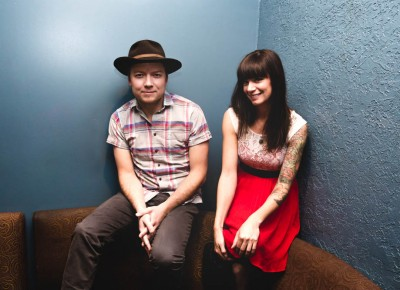 (L–R) Little Hurricane's Tone and CC in the green room before the show. Photo: @LMSORENSON