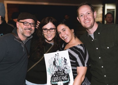 Fans Brent and Catherine Mangum, Selena Renzetti and Jason Brimhall. Photo: @LMSORENSON