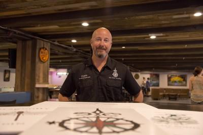 Chris Cross of New World Distillery.