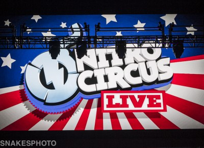 Welcome to Nitro Circus Live at Vivint Smart Home Arena. Photo: Jake Vivori